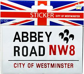 SV01 Abbey road sticker